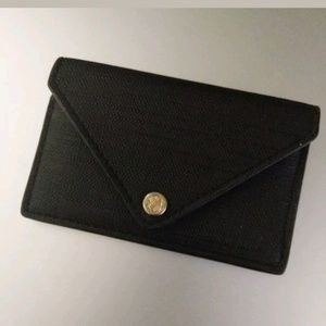 Accessories - Dagne Dover Womens Onyx Black Card Case